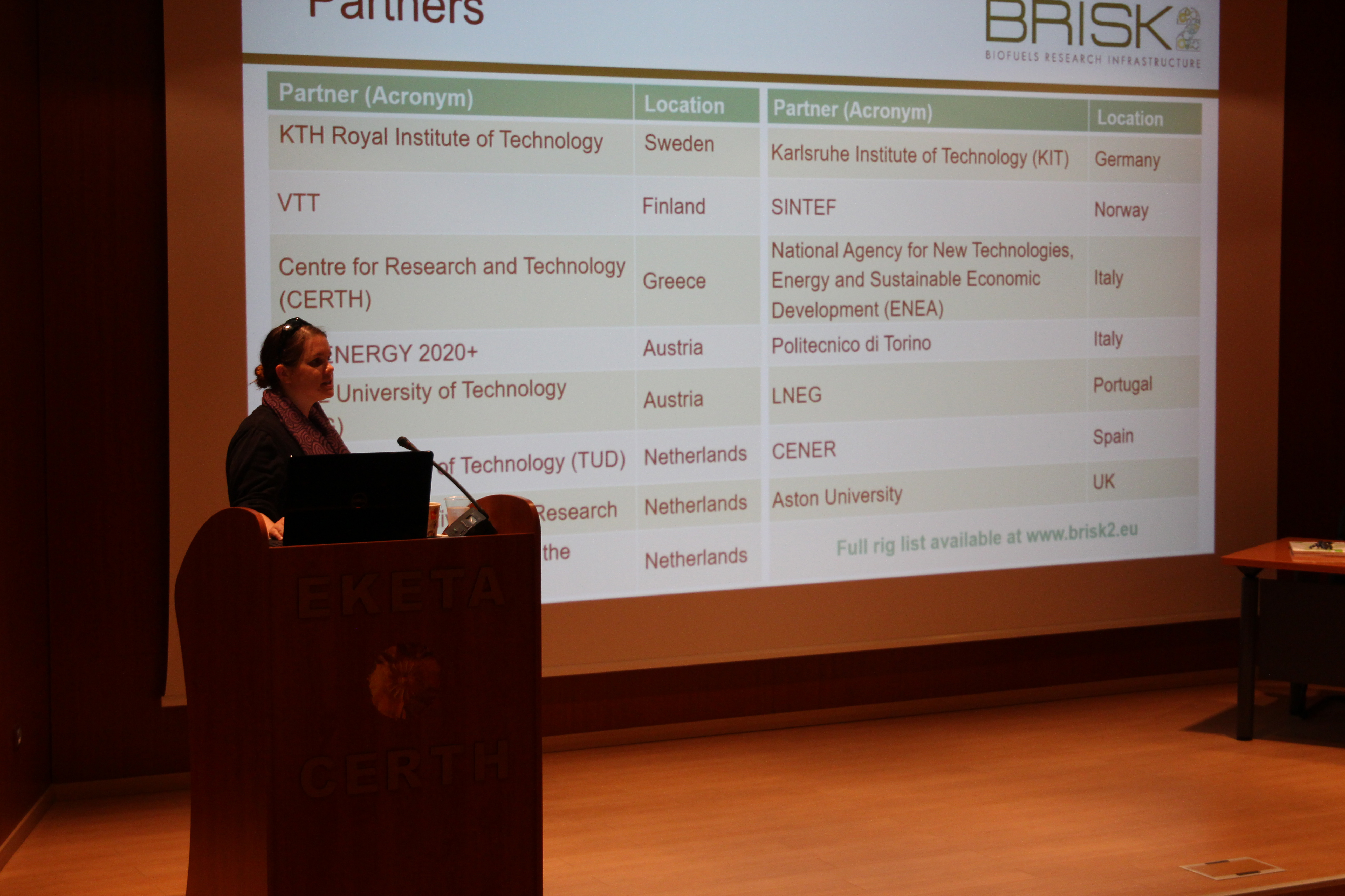 Aston University's Pippa Try presents on TA opportunities with BRISK2