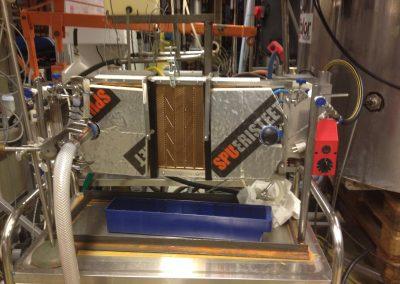 KTH1-Air gap membrane distillation (AGMD) test facility