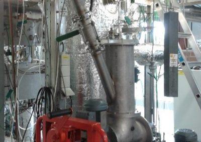 ECN TNO WOB Fluidized Bed Reactor
